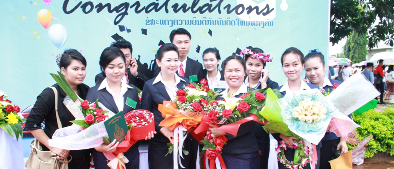 National University of Laos Graduation 2013